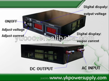 Supply DC power for the standard lamp and the large power LED Variable DC voltage power supply