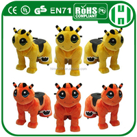 HI battery operated walking electric horses ride horses toy for children