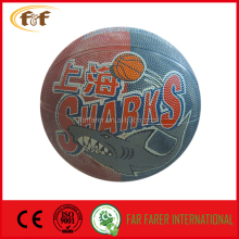 size 5 rubber promotion basketball with customers printing