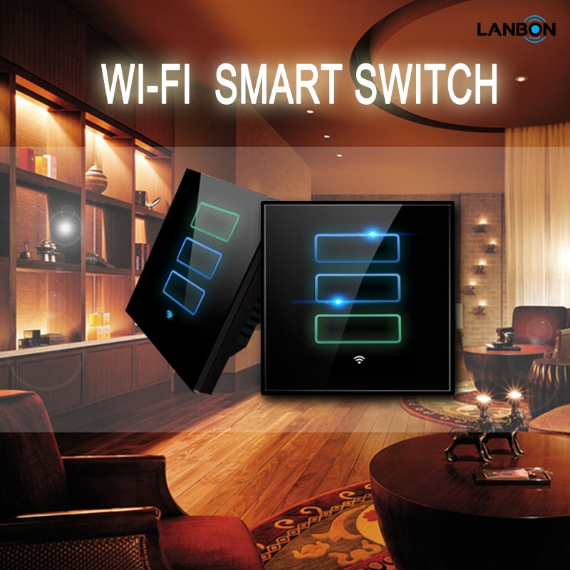 Remote smart touch switch for home and hotel, android/ios app
