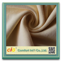 High Quality For POLO Shirt Garment CVC 100% Cotton Pique Fabric
