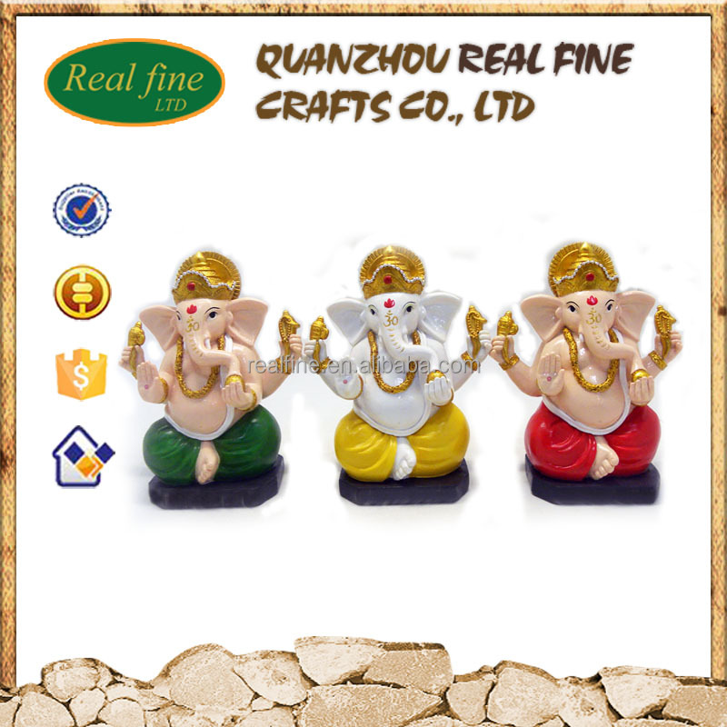 Wholesale custom cheap resin ganesh miniature statue for sale