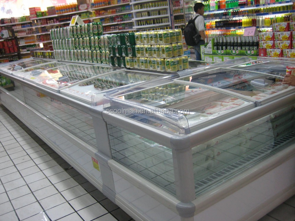 Combined Supermarket Chest Freezer/Big Capacity Display Freezers