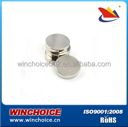 custom made Sintered NdFeB Disc Magnet With Zn Plating 1mm-200mm