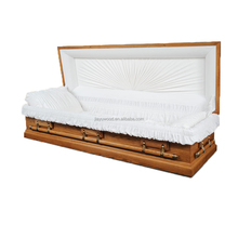Best adjustable metal bed classical luxury adult full couch coffins caskets for the dead