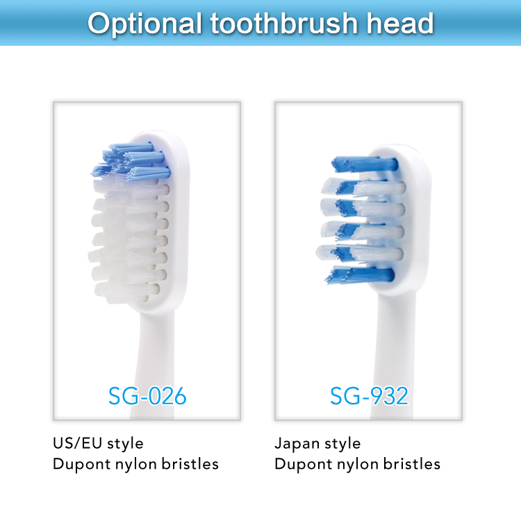 New battery powered mini electric toothbrush SG-956