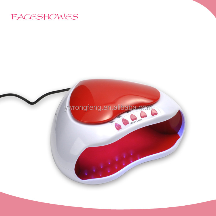 Hot and cheap prince led lamp gel nail small uv light uv lamp for printer nail art tools led light nail dryer