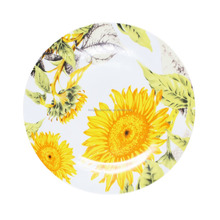customized design AB grade porcelain dinner plate 2018
