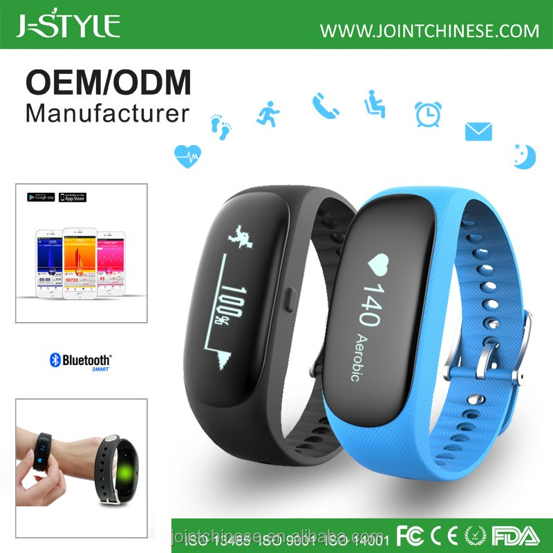 Digital optical heart rate watch bracelet BLE4.0 walking pedometer waterproof fitbit activity wrist band tracker
