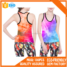 Professional sports seamless ladies gym tank Tops