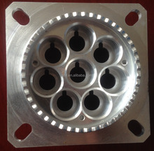 Custom CNC Machined Precision Communication Adapter Aerospace Industries Spare Parts