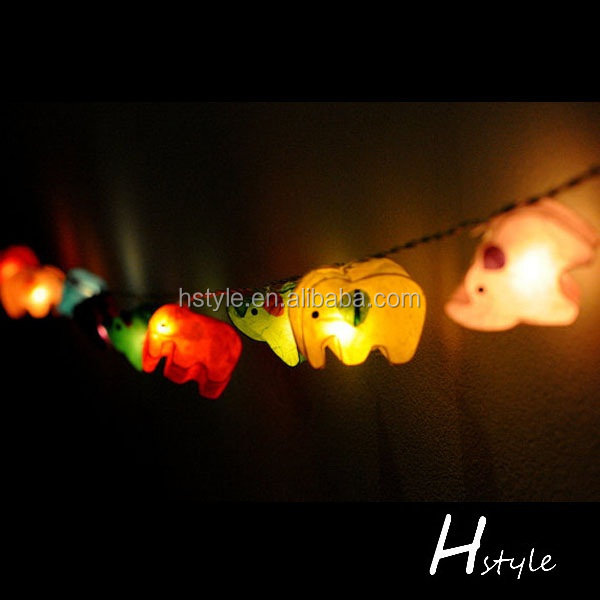 Zoo String Lights : Elephant Zoo Animal Plant Paper Lantern String Light Hnl027e - Buy Elephant Zoo Animal Plant ...
