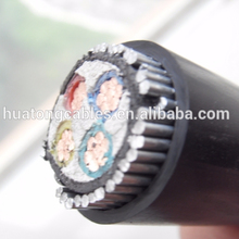 600/1000V 4 core copper conductor armored xlpe cable