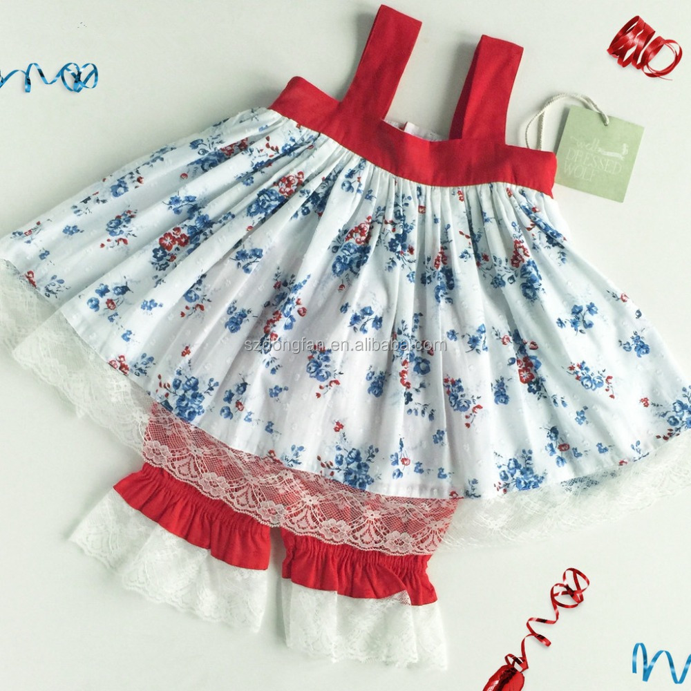 More than 9 years old factory provide summer girls outfit boutique