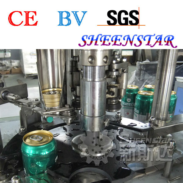 Easy maintainance energy drink can equipment