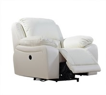 Leather Rocker Swivel Recliner Chair