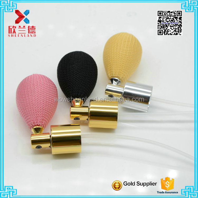18mm Yellow Pump Atomizer Spray Airbag For Perfume Bottle