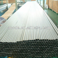 Titanium heat exchanger tube rolling