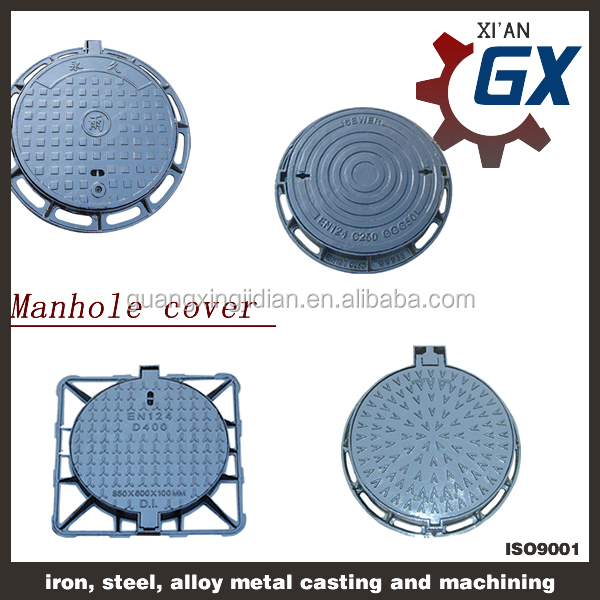 2015 best selling Round Hinged manhole cover OEM Manufactures, Manhole Cover EN124 D400