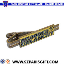 Wholesale custom unique cheap tie bar for men