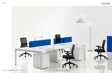 open acrylic 2 person office desk workstation office furniture china manufacturer