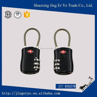 3 digital new Design Manufacturer Combination New design steel cable TSA Lock