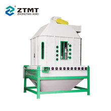 Competent Machine Counter Flow Feed Pellet Cooler for Sale with Imported Bearing