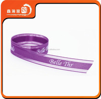 custom transparent printed organza ribbon