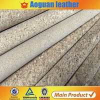 Guangzhou Suppliers Wholesale Cork Leather Fabric