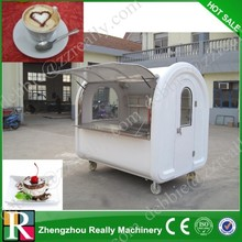 Hot sale in US market CE approve Mobile Street Food Catering Cart with wheels