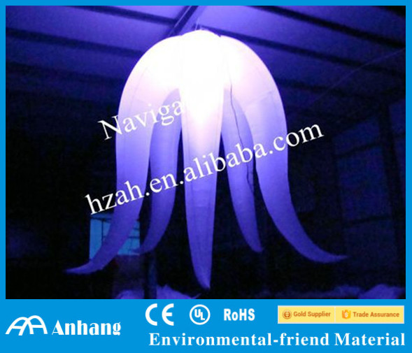 Hot Selling Inflatable Lighting Octopus