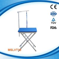 MSLVT10W Foldable dog grooming table used in various pets and dogs