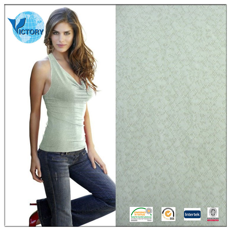 100% Polyester Jacquard Single Jersey Circular Knitted Fabric