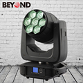 2017 Rohs led light 7x4in1 rgbw 40w beam zoom moving head stage lighting