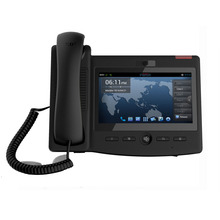 Video Voip ip Phone SIP telephone 6 SIP Accounts Supports third party communication APP 7inch Touch screen C600 Android 4.2