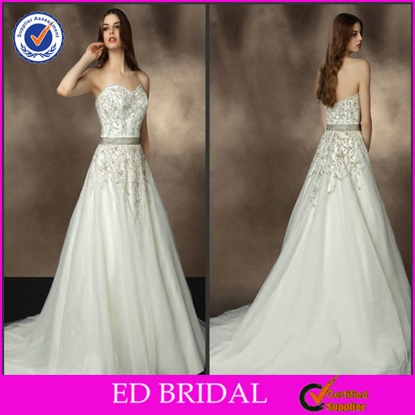 Luxurious Organza Backless Satin Belt Ball Gown Islamic Crystal Appliques For Wedding Dresses