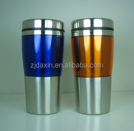 Stainless steel soup mug, plastic soup mug, cute soup mugs for promotional