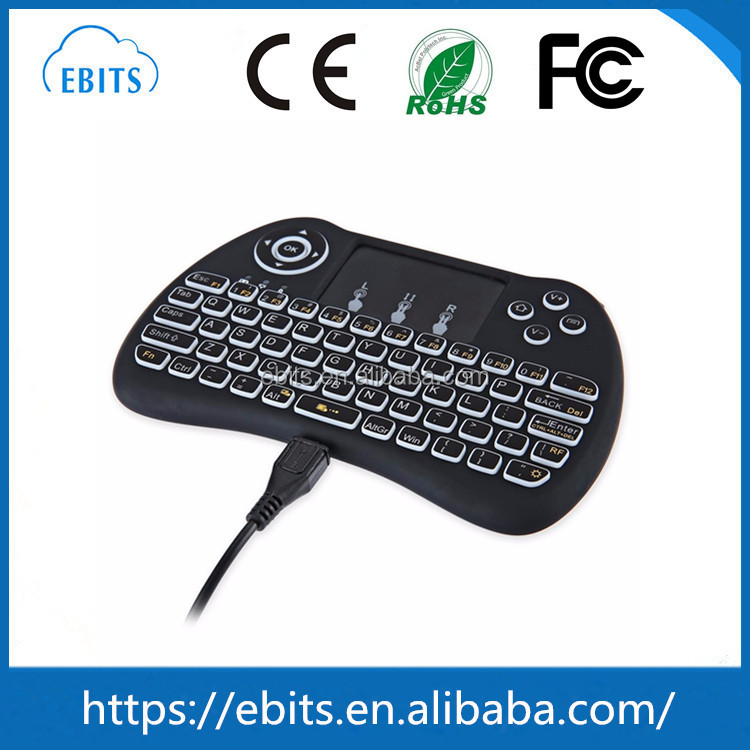2.4g wireless fly mouse keyboard H9 Mini wireless keyboard for Samsung smart TV