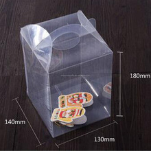 Factory Wholesale Customized Clear Plastic Cupcake Boxes Packaging
