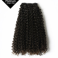 VV Black Women China Quality Alibaba Remy Human Wholesale Hair Extension Virgin Brazilian Jerry Curl Hair Weave