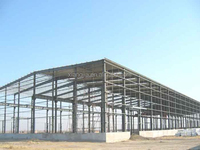 long-span prefab steel structure building