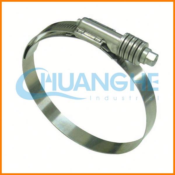Hot sale! high quality! best selling metal band elastic hose clamp