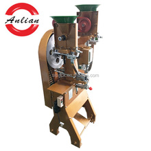 Golden coating belt eyelet punching equipment selling eyeleting machine