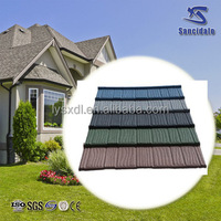 stone granules coated metal roof tile/soncap/roman roofing sheet tile