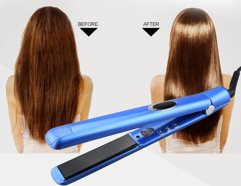 Wholesale private label fast mini 1 inch professional ceramic ionic hair iron steam styler infrared hair straightener