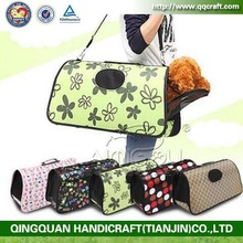 aimigou cheap price Pretty Stripe Pattern Pet Dog /Cat Bag Fashion Convenient Pet Carrier Tote Bag