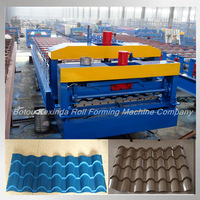 kexinda tile colored steel wall roof panel cold roll forming machine