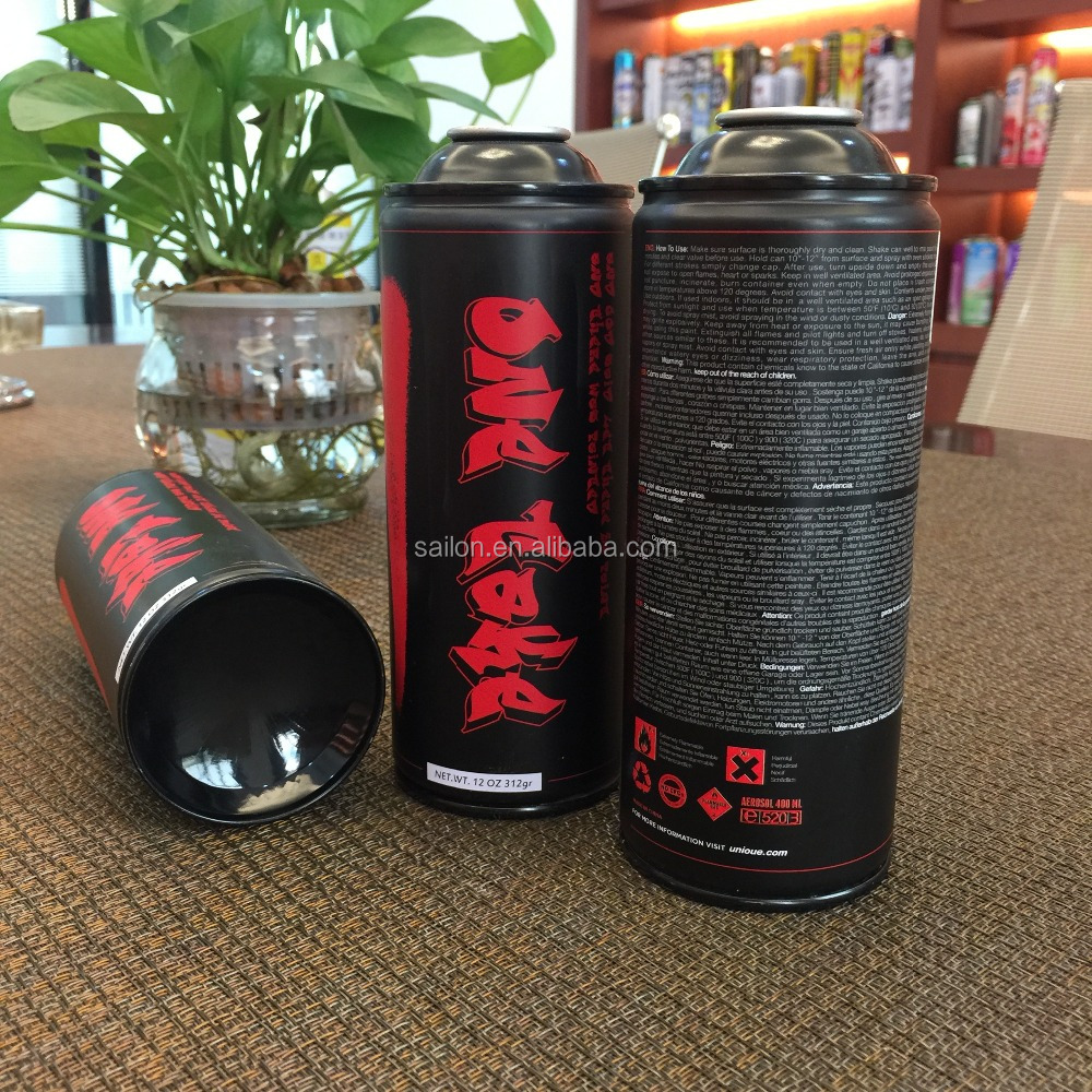 polish refillable aerosol spray paint can with foshan factory price