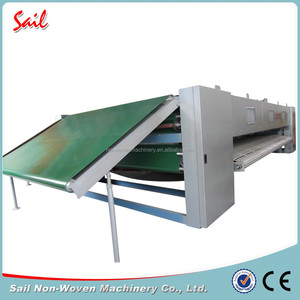 Nonwoven chemical fiber cross lapper lap former machine for cotton