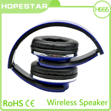 HOPESTAR H666 wireless headphone with bluetooth speaker and TF